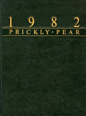 Primary view of object titled 'Prickly Pear, Yearbook of Abilene Christian University, 1982'.