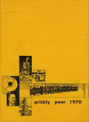 Primary view of object titled 'Prickly Pear, Yearbook of Abilene Christian College, 1970'.