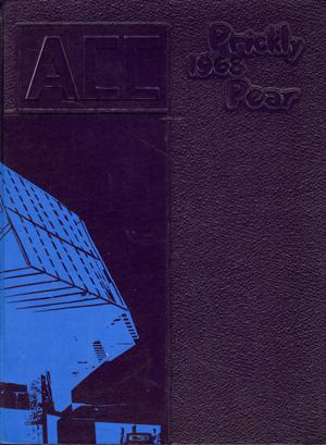 Primary view of object titled 'Prickly Pear, Yearbook of Abilene Christian College, 1968'.