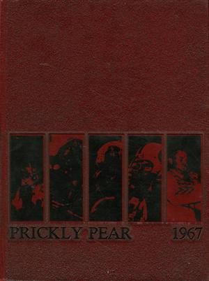 Primary view of object titled 'Prickly Pear, Yearbook of Abilene Christian College, 1967'.