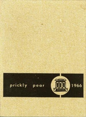 Primary view of object titled 'Prickly Pear, Yearbook of Abilene Christian College, 1966'.