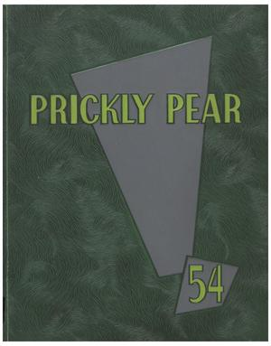 Primary view of object titled 'Prickly Pear, Yearbook of Abilene Christian College, 1954'.