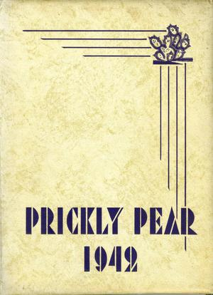 Primary view of object titled 'Prickly Pear, Yearbook of Abilene Christian College, 1942'.