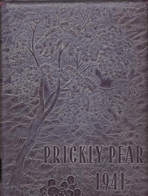 Primary view of object titled 'Prickly Pear, Yearbook of Abilene Christian College, 1941'.