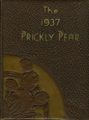 Primary view of object titled 'Prickly Pear, Yearbook of Abilene Christian College, 1937'.