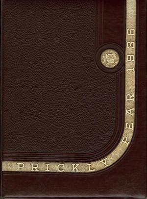 Prickly Pear, Yearbook of Abilene Christian College, 1936
