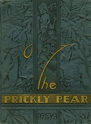 Prickly Pear, Yearbook of Abilene Christian College, 1934