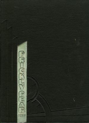 Primary view of object titled 'Prickly Pear, Yearbook of Abilene Christian College, 1933'.