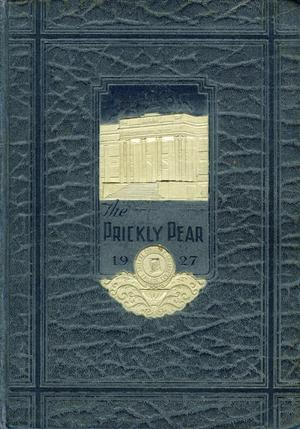 Primary view of object titled 'Prickly Pear, Yearbook of Abilene Christian College, 1927'.