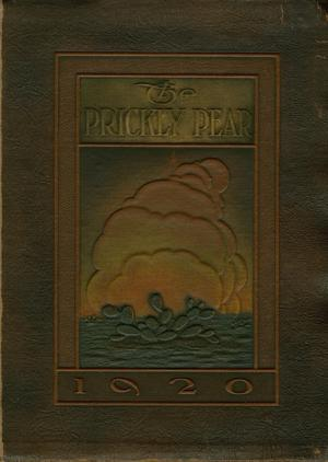 Prickly Pear, Yearbook of Abilene Christian College, 1920