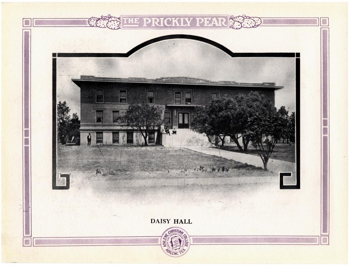 Prickly Pear, Yearbook of Abilene Christian College, 1916                                                                                                      21