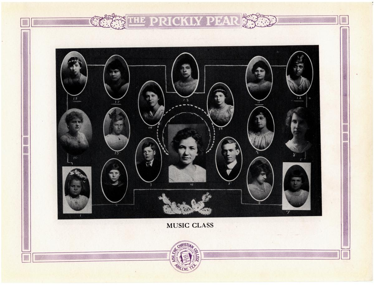 Prickly Pear, Yearbook of Abilene Christian College, 1916                                                                                                      30