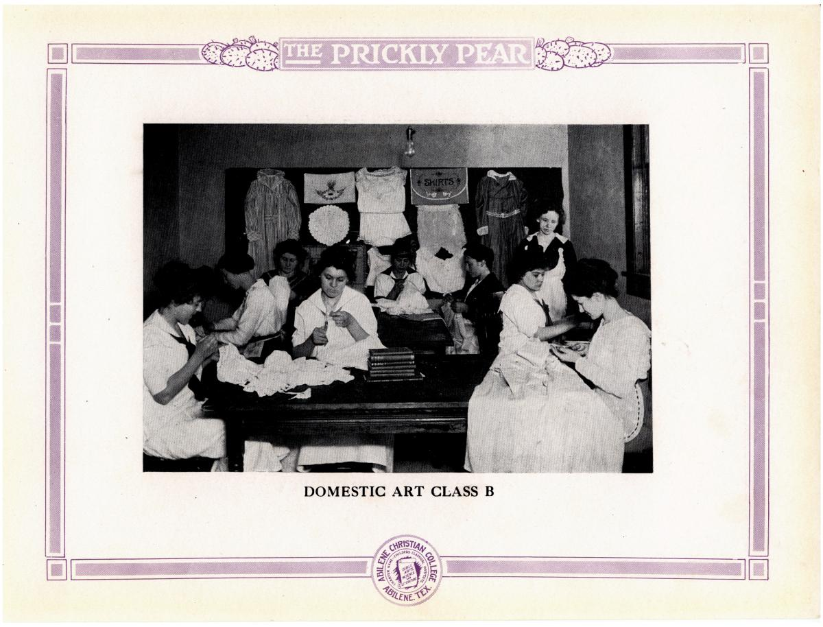 Prickly Pear, Yearbook of Abilene Christian College, 1916                                                                                                      38