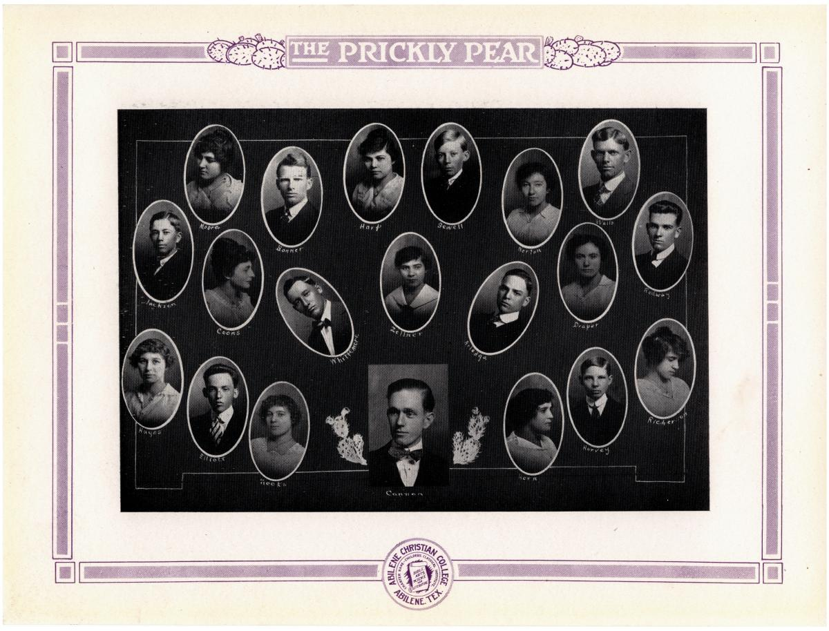Prickly Pear, Yearbook of Abilene Christian College, 1916                                                                                                      47