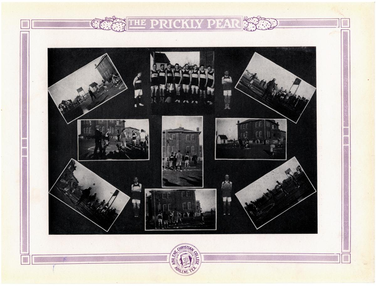 Prickly Pear, Yearbook of Abilene Christian College, 1916                                                                                                      70