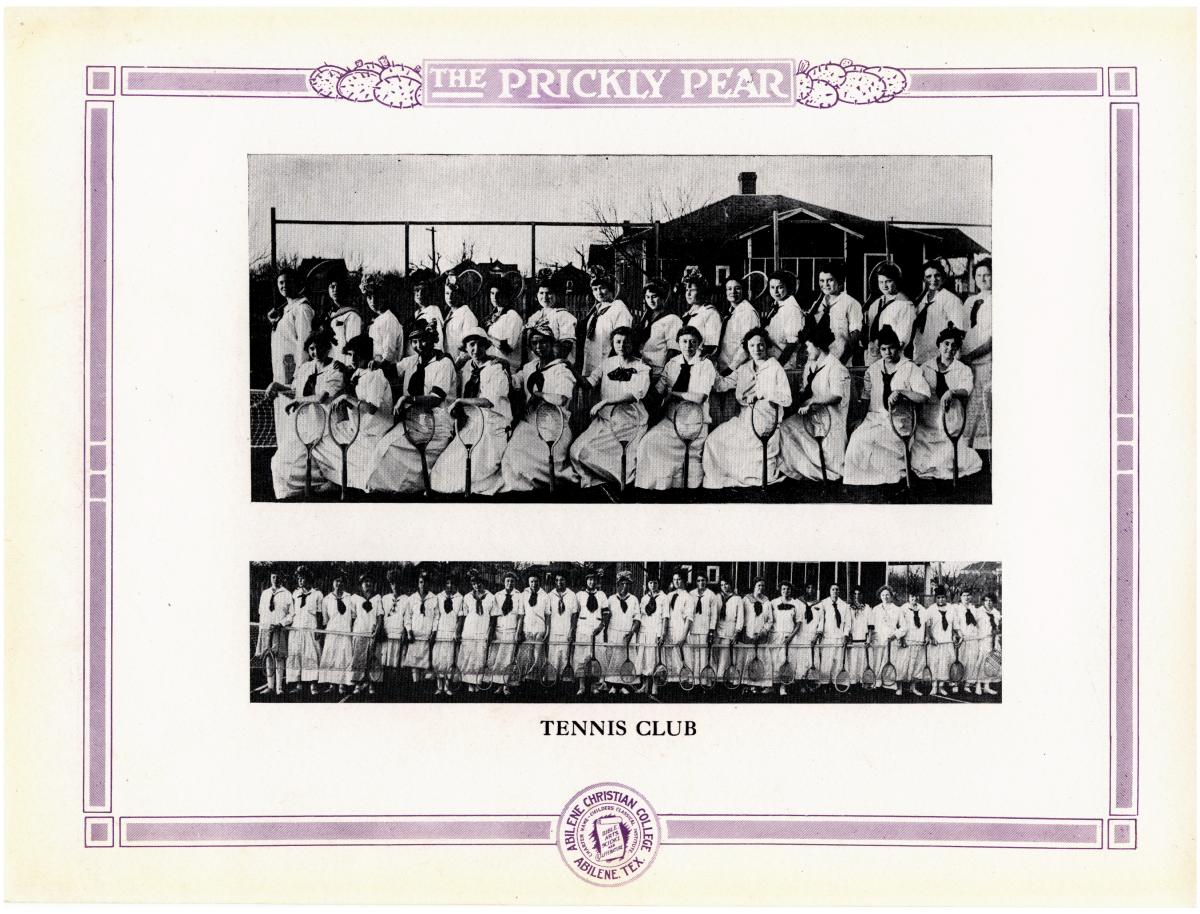 Prickly Pear, Yearbook of Abilene Christian College, 1916                                                                                                      73