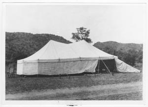 Primary view of object titled 'Old Gospel Tent'.