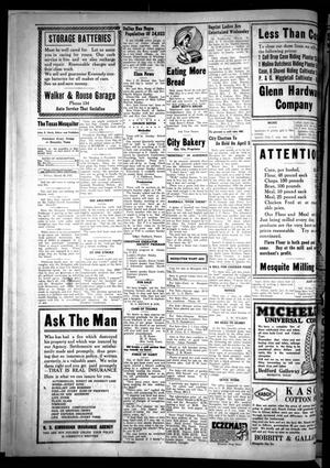 Primary view of The Texas Mesquiter. (Mesquite, Tex.), Vol. [39], No. [34], Ed. 1 Friday, March 18, 1921
