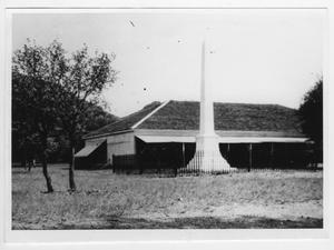 Primary view of object titled '[Bloys Memorial Monument]'.