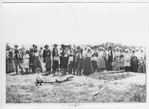 Primary view of object titled '[Group Picture in a Field]'.