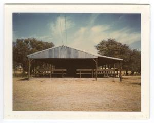 Primary view of object titled '[Camp Building]'.