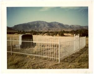 Primary view of object titled '[Campground Cemetery]'.