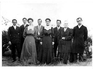 Primary view of [Rev. William B. Bloys family]