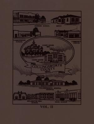 Collingsworth County, Texas History, Volume 2