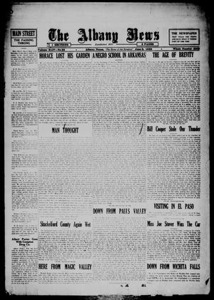 Primary view of object titled 'The Albany News (Albany, Tex.), Vol. 44, No. 36, Ed. 1 Friday, June 8, 1928'.