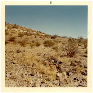 Primary view of object titled 'Indian Burial Ground in Presidio County, Texas'.