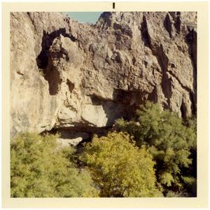 Primary view of object titled 'Tinaja Cave in Presidio County, Texas'.