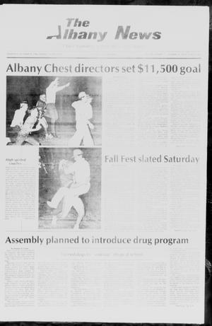 Primary view of object titled 'The Albany News (Albany, Tex.), Vol. 111, No. 19, Ed. 1 Thursday, October 23, 1986'.