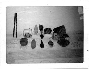 Primary view of object titled 'Indian Artifacts found in Presidio County'.