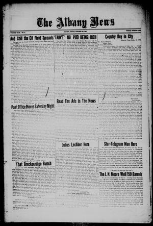 Primary view of object titled 'The Albany News (Albany, Tex.), Vol. 43, No. 6, Ed. 1 Friday, October 29, 1926'.