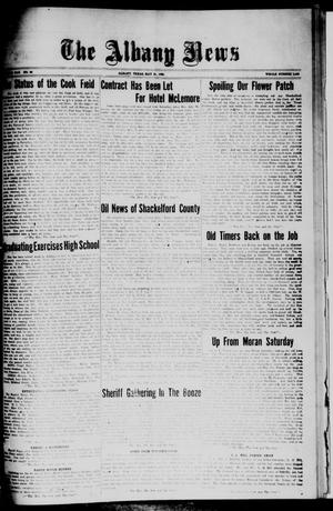Primary view of object titled 'The Albany News (Albany, Tex.), Vol. 42, No. 36, Ed. 1 Friday, May 21, 1926'.