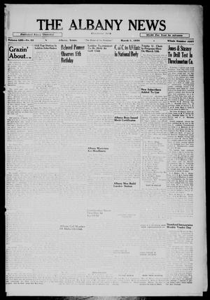 Primary view of object titled 'The Albany News (Albany, Tex.), Vol. 53, No. 22, Ed. 1 Thursday, March 3, 1938'.