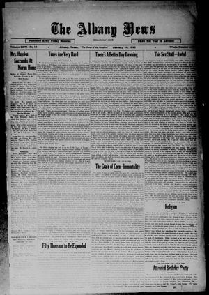 Primary view of object titled 'The Albany News (Albany, Tex.), Vol. 46, No. 15, Ed. 1 Friday, January 16, 1931'.