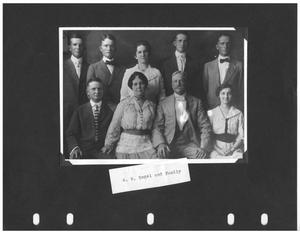 Primary view of object titled 'W. W. Bogel and Family'.
