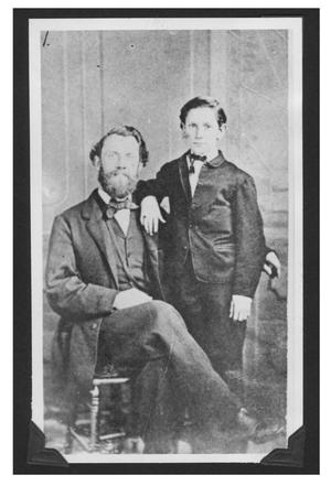Primary view of object titled '[William Bogel and Father]'.