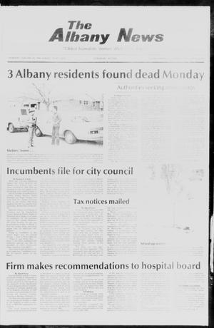Primary view of object titled 'The Albany News (Albany, Tex.), Vol. 110, No. 36, Ed. 1 Thursday, February 20, 1986'.