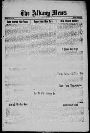 Primary view of object titled 'The Albany News (Albany, Tex.), Vol. 43, No. 15, Ed. 1 Friday, January 7, 1927'.