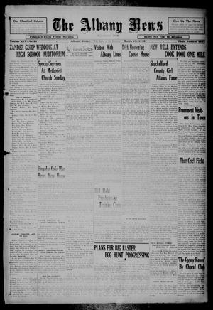 Primary view of object titled 'The Albany News (Albany, Tex.), Vol. 45, No. 24, Ed. 1 Friday, March 22, 1929'.