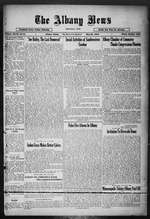Primary view of object titled 'The Albany News (Albany, Tex.), Vol. 47, No. 33, Ed. 1 Friday, May 20, 1932'.