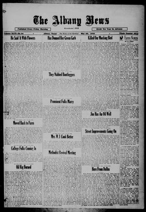 Primary view of object titled 'The Albany News (Albany, Tex.), Vol. 46, No. 34, Ed. 1 Friday, May 30, 1930'.