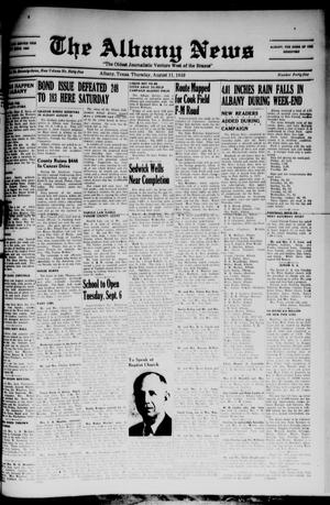 Primary view of The Albany News (Albany, Tex.), Vol. 65, No. 45, Ed. 1 Thursday, August 11, 1949