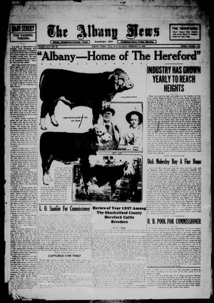 Primary view of object titled 'The Albany News (Albany, Tex.), Vol. 44, No. 20, Ed. 1 Friday, February 17, 1928'.