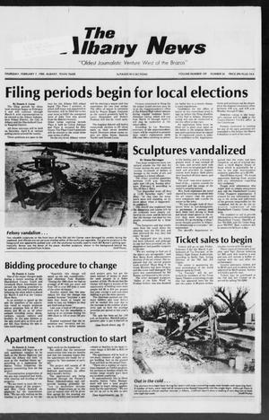 Primary view of object titled 'The Albany News (Albany, Tex.), Vol. 109, No. 34, Ed. 1 Thursday, February 7, 1985'.
