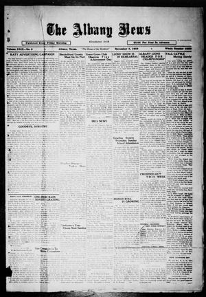 Primary view of object titled 'The Albany News (Albany, Tex.), Vol. 49, No. 5, Ed. 1 Friday, November 3, 1933'.