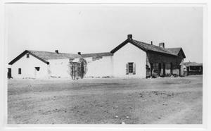 Primary view of object titled '[Fort Davis Courthouse]'.