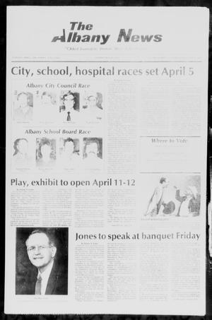 Primary view of object titled 'The Albany News (Albany, Tex.), Vol. 110, No. 42, Ed. 1 Thursday, April 3, 1986'.